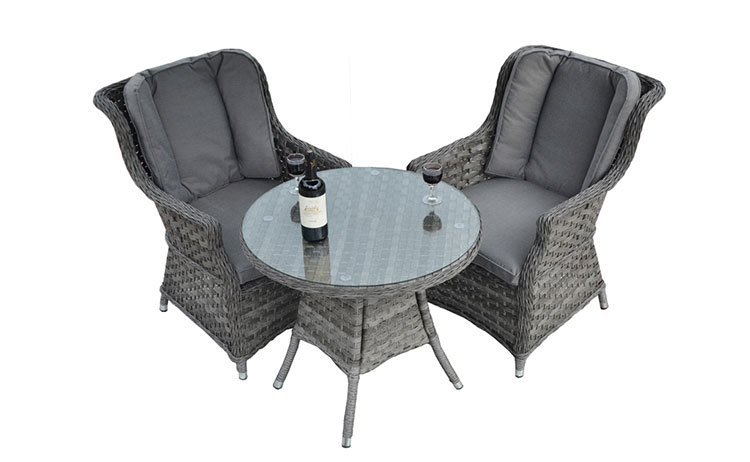 On sale outdoor furniture rattan wicker table and chairs