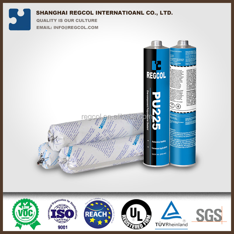 China 310 ml PU adhesive sealant for structural bonding of automobile production and repairing