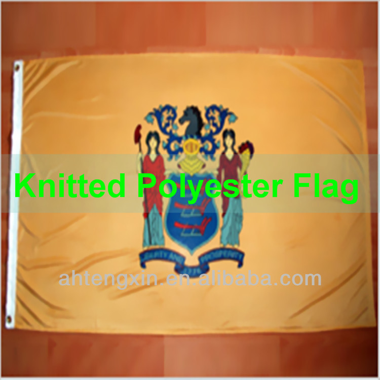 printed knitted polyester flags,flags for wholesale
