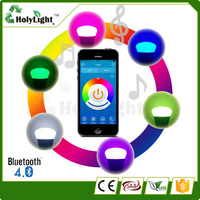 Smart Led Bulb Light App Control RGBW Color Changing Bluetooth Dimmable 7 Colors Led Bulb With Remote Control