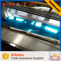 Factory price Grade 304l PVC covered Stainless Steel Sheet/Plate