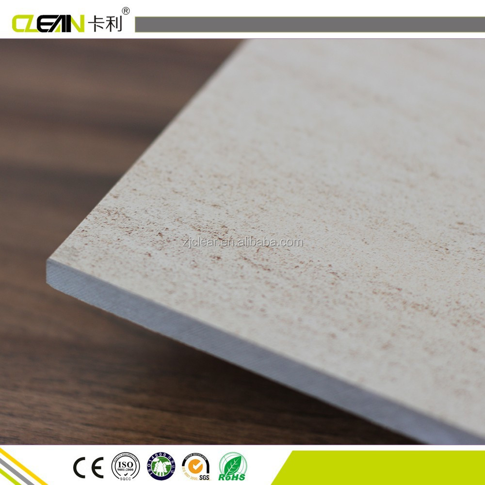 Marble Look UV coated fiber cement board price Exterior Wall panel