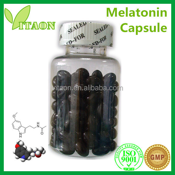 250 mg ISO GMP Certificate and OEM Private Label Melatonin 3mg Softgels