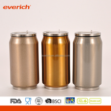 12oz double wall stainless steel can cooler with Customized logo