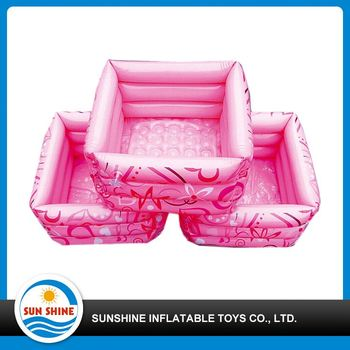 cheap water inflatable footbath for child bath