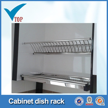 Stainless steel 2 tier dish rack drainer VT-09.002