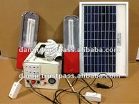 Solar energy system for electric power supply
