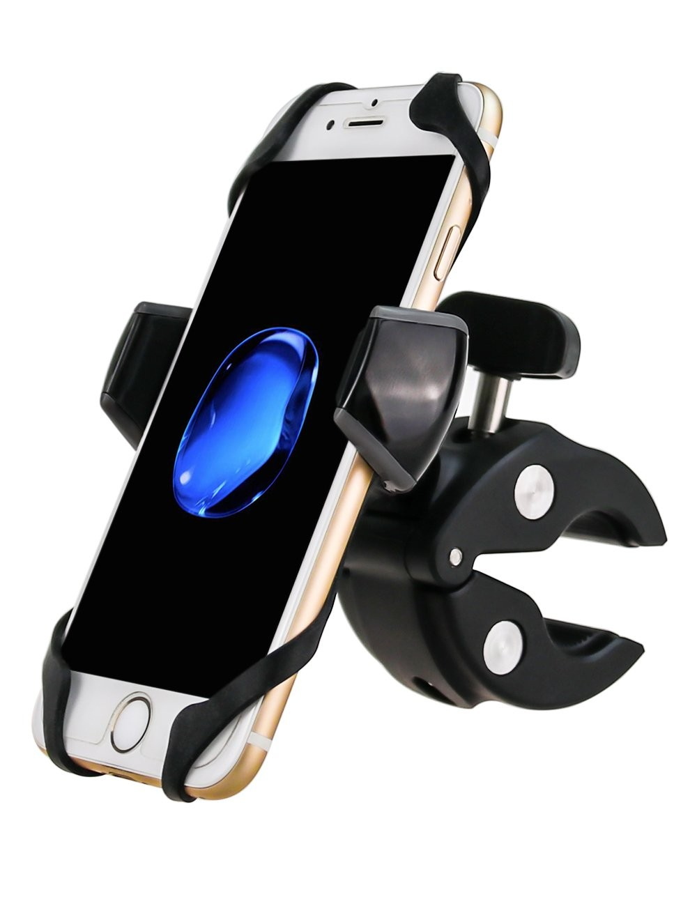 Bike Mount Universal Bicycle Cell Phone Holder Rack Handlebar &amp; <strong>Motorcycle</strong> Holder Cradle Compatible with All Brand Cellphones