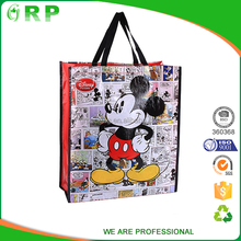 Advertising promotional RPET cheap reusable shopping bags wholesale
