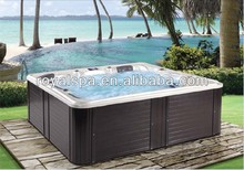 acrylic hydrotherapy 5 persons freestanding outdoor hot swim pool