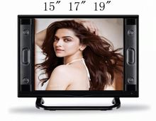 Best price new digital & analog TV all in 1 17 inch wide screen LED LCD flat TV with USB port 720P 1080P HD MI input record PVR