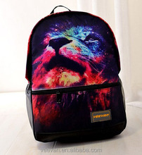 Wholesale cheap school galaxy backpack 3D print backpack