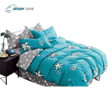 100% Polyester Manufacture Wholesale 3d Reactive Printed Bedding Set