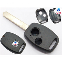 Wangtong key blank for Honda Fit 2007 2008 2009 07 08 09 Remote 2 button no chip holder remote key shell