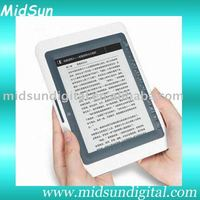 7 inch amazon kindle ebook reader windows ce with WIFI FM function and 3G