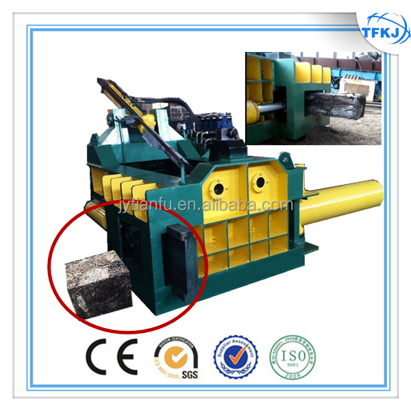 (TFKJ) Y81T-1250 Hand valve horizontal metal compactor for scrap steel hydraulic scrap packing machine CE