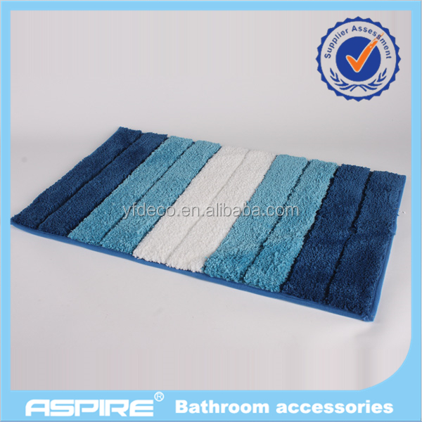 microfiber customizable bathroom mat bath mat