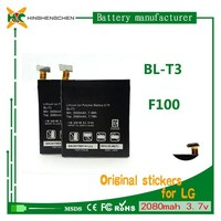 high power mobile phone battery BL-T3 for LG Optimus Vu 2 F100S P895 F100
