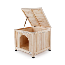 Wooden Dog Kennel Cages Factory Direct Wholesale Indoor Wooden Dog Houses For Sale