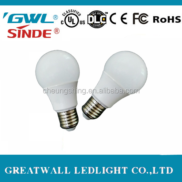 Self-developed patent 4w 5w 12w led bulb e27 110 lumen per watt hospital bed head light