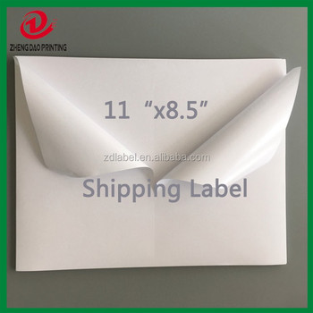 "8.5""x11""half sheet shipping labels for USPS DHL"