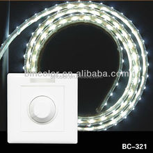 hot10A wall mounted LED rotary dimmer DC12V-24V