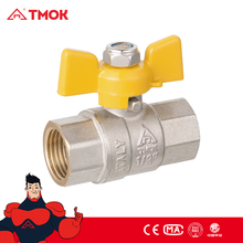 "Natural Gas Safety Valve Brass Ball Valve CE ISO Approved 1/2""-1"" Female Brass Gas Ball Valve"