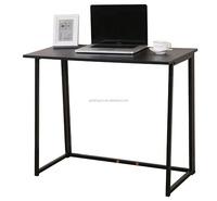 CherryTree Furniture Compact Flip-Flop Folding Computer Desk Home Office Laptop Desktop Table