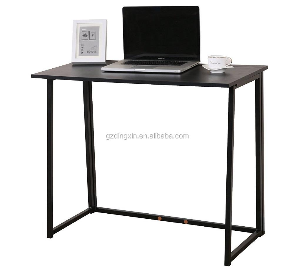 Dingxin Furniture Compact Flip flop Folding Computer Desk Home