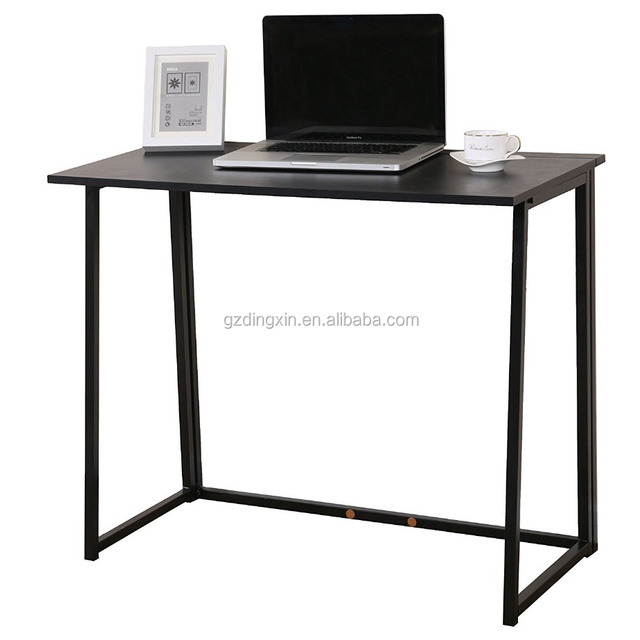 Dingxin Furniture Compact Flip-Flop Folding Computer Desk Home Office Laptop Desktop Table