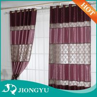New Arrival Various colors Wholesale Luxury small window curtains models