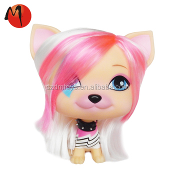 cute customized 3d face doll animal party decorate plastic toys maker