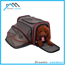 Premium Airline Approved Expandable Pet Carrier by Pet Peppy- TWO SIDE Expansion, Designed for Cats, Dogs, Kittens,