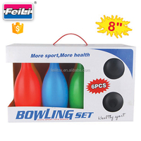2016 new toys indoor bowling set plastic kids bowling ball games
