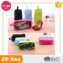 New design travel portable handle waterproof storage shoe bag tote pouch organizer shoes bag