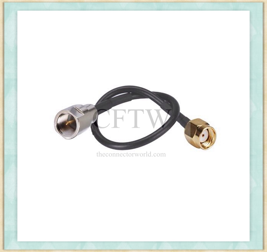 RF FME Male to RP-SMA Male Cable Connector(15cm)