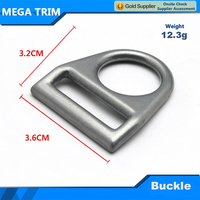 metal belt buckle clip for bag