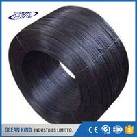 different decorative transport soft 14 gauge black annealed wire binding wire