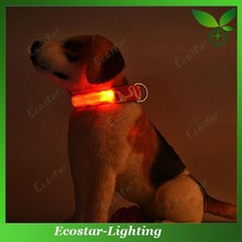 Popular LED Flashing Dog Collars for Pet