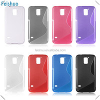Design latest for samsung galaxy s5 flip gel tpu case