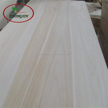 Pretty texture and tough paulownia wood plank for furniture wood