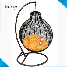 For Two People Seat Hanging Sex Chair Indoor Egg Shape Rattan Patio Swings