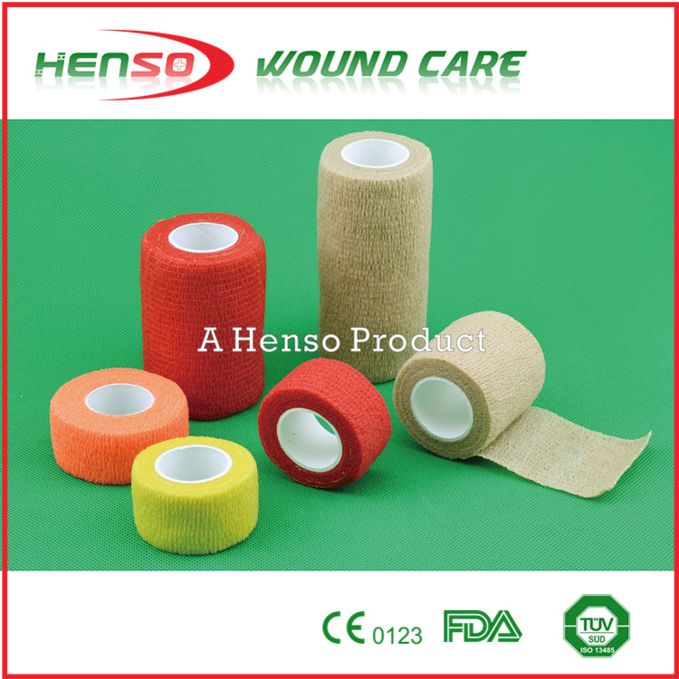 HENSO High Quality Elastic Colored Cohesive Wraps