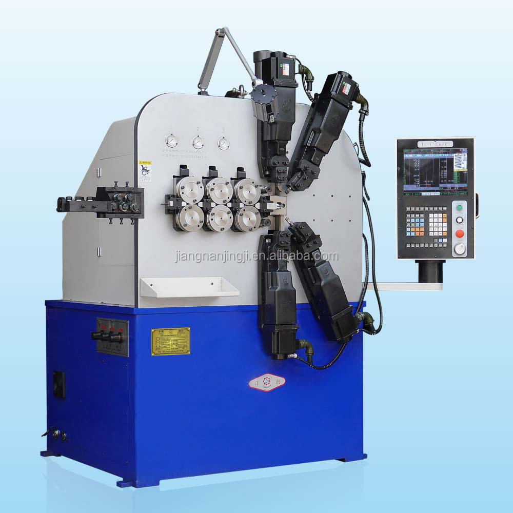 Full Automatic High Efficiency Compression Tension Spring Coil Machine For Making Various Springs