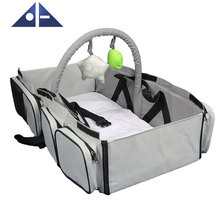 3 In 1 Diaper Bag Multi-Purpose Baby Car Seat Travel Carry Bed Fold Baby Travel Bag For Plane