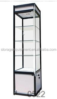 Classical glass display cabinets with elegant design