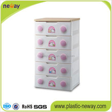 baby clothing custom plastic storage cabinet drawers