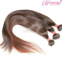 Homeage 2014 dropship human hair weaving long straight indian hair styles for women