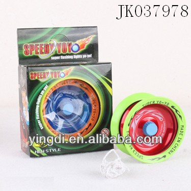 Metal yoyo(3 colour mix) aluminium yoyo ball