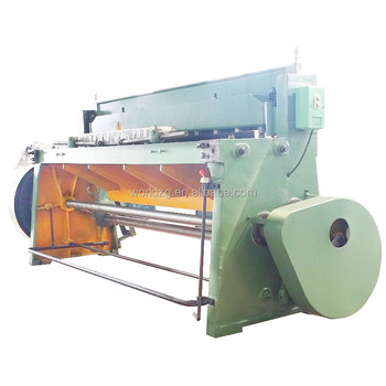 mechanical drive shearing machine for 3mm steel cutting
